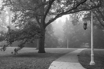 Photograph - Foggy Msu Morning  by John McGraw