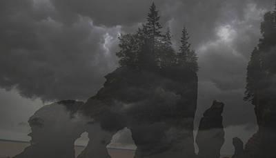 Katharine Hepburn - Foggy Night by Will Burlingham