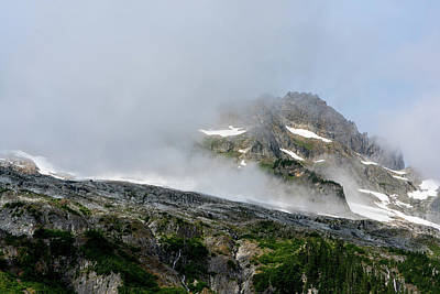 Photograph - Foggy North Cascades National Park by Serge Skiba
