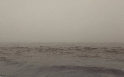 Photograph - Foggy Ocean by Mary Capriole