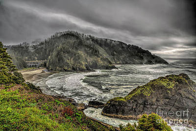 Photograph - Foggy Oregon Coast by Jon Burch Photography