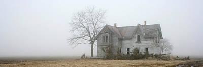 Photograph - Foggy Panoramic by Kathy Stanczak