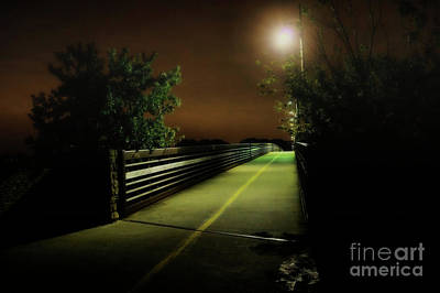 Photograph - Foggy Path by Diana Mary Sharpton