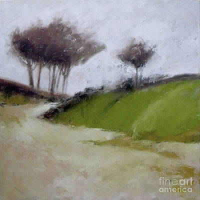 Painting - Foggy Path by Mary Hubley