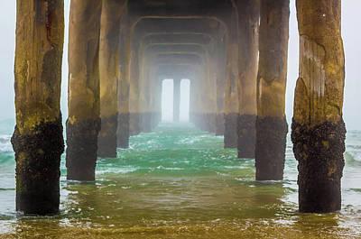 Photograph - Coastal Fog by April Reppucci