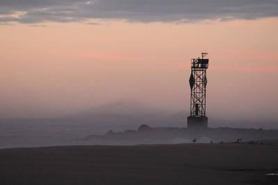 Photograph - Foggy Pink Horizon by Robert Banach