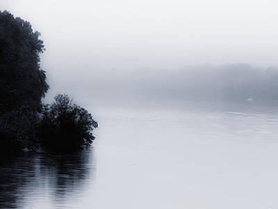 Foggy River Art Print by Bill Cannon