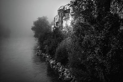 Photograph - Foggy River by Holger Debek