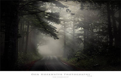 Photograph - Foggy Road by PhotoWorks By Don Hoekwater