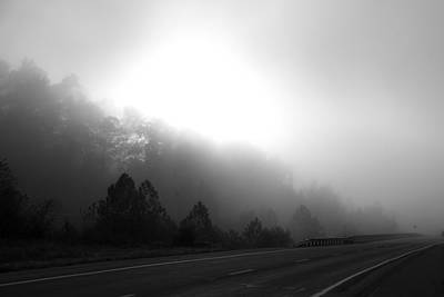 Photograph - Foggy Road by Scott Sanders