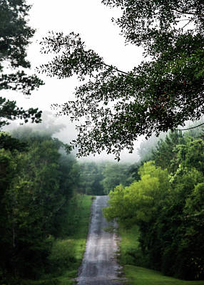 Photograph - Foggy Road To Eternity  by Shelby Young
