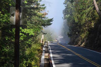 Photograph - Foggy Road by Tom Cochran