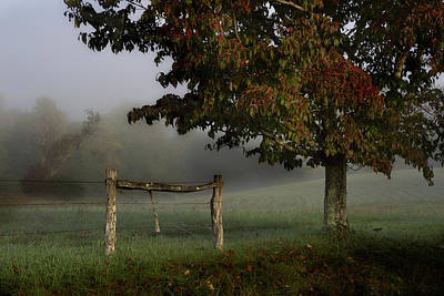 Photograph - Foggy Start by Mike Eingle