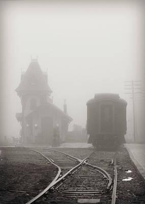 Photograph - Foggy Station by Brenda Conrad
