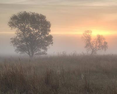 Photograph - Foggy Sunrise -02 by Rob Graham