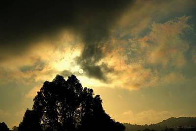 Photograph - Foggy Sunrise In El Sobrante by Joyce Dickens