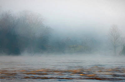 Fun Patterns - Foggy Sunrise on the River by Francis Sullivan