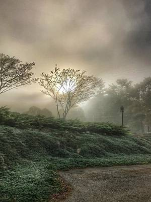 Photograph - Foggy Sunrise by Pat Moore