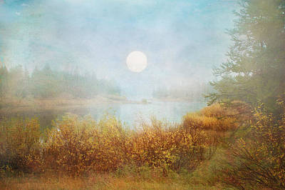 Digital Art - Foggy Sunrise  by Ramona Murdock