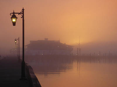 Photograph - Foggy Sunrise by Robert Henne