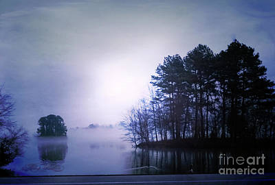 Photograph - Foggy Sunset by Melissa Messick