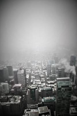 Photograph - foggy Toronto by Perggals - Stacey Turner