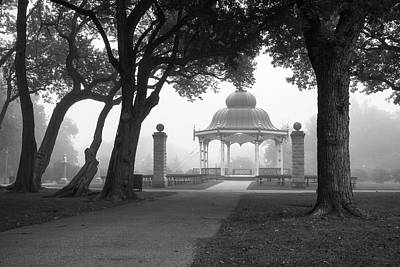 Photograph - Foggy Tower Grove by Scott Rackers