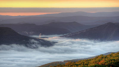 Photograph - Foggy Valley Morning by Michael Donahue