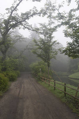 Photograph - Foggy Walk by Masami Iida