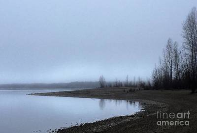 Art Print featuring the photograph Foggy Water by Victor K
