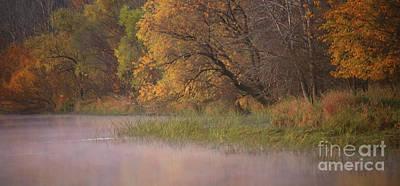 Photograph - Foggy Waters by Elizabeth Winter