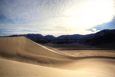 Death Valley Photograph - Foghorn Dune by David Andersen