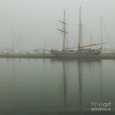 Photograph - Foghorn Morning by Roger Monahan