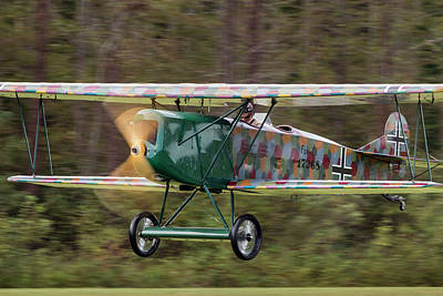 Photograph - Fokker C.i Taking Off by Liza Eckardt
