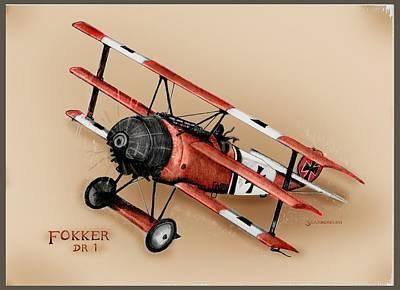 Fokker Dr 1 1917 Original