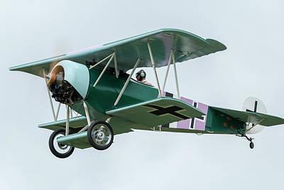 Photograph - Fokker D.vi Overhead by Liza Eckardt