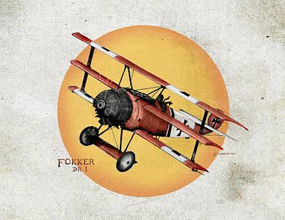 Fokker In The Sun 3 Original
