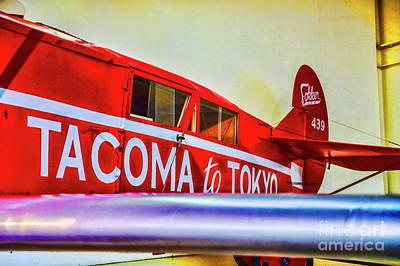 Photograph - Fokker Tokyo Express by Rick Bragan