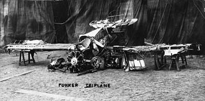 Tri-motor Photograph - Fokker Tri-motor Airplane by Granger