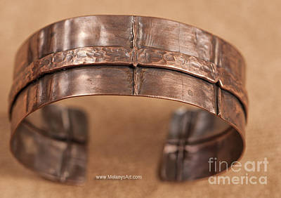 Jewelry - Fold Formed Copper Bracelet by Melany Sarafis