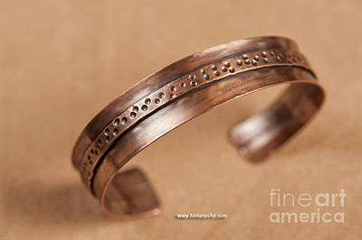 Copper Bracelet Jewelry - Fold Formed Copper Cuff by Melany Sarafis