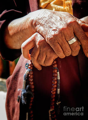 Photograph - Folded Hands by Scott Kemper