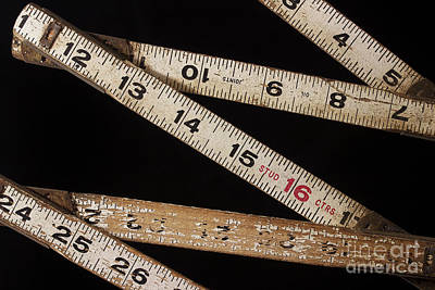Photograph - Folding Ruler 2 by Mike Eingle