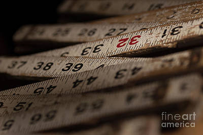 Photograph - Folding Ruler 3 by Mike Eingle