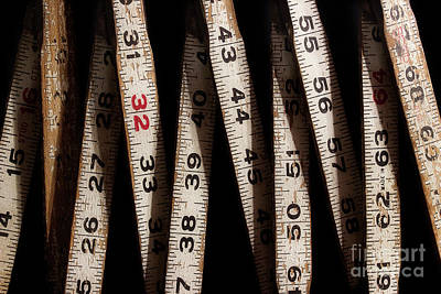 Photograph - Folding Ruler 4 by Mike Eingle