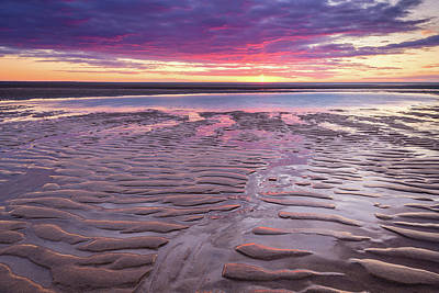 Photograph - Folds In The Sand by Michael Blanchette