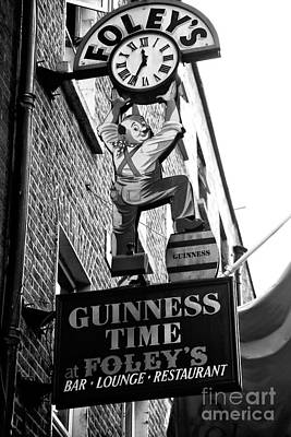 Photograph - Foley's Guinness Time by John Rizzuto