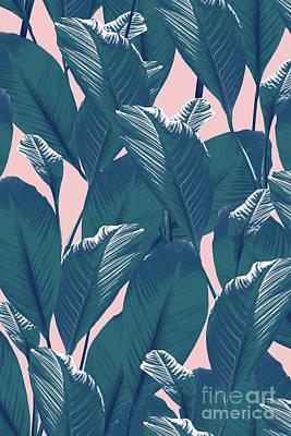 Summer Digital Art - Foliage by Elizabeth Tuck