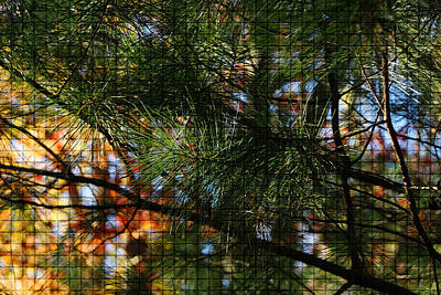 Photograph - Foliage Tilework by Margie Avellino