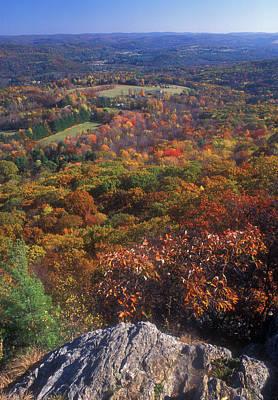 Photograph - Foliage View Appalachian Trail Connecticut by John Burk